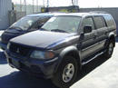 2002 MITSUBISHI MONTERO SP LS, 6CYL, AUTOMATIC 4X4, COLOR BLUE STK: 093458