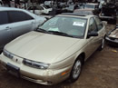 1999 SATURN SL2, 4DOOR COLOR GOLD