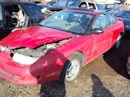 1997 SATURN SC1 TWIN CAM , COLOR-RED, STK # 109770