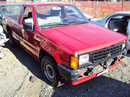 MITSUBISHI MIGHTY MAX D50 TRUCK, COLOR-RED , STK# 103506