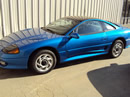 1992 MITSUBISHI STEALTH RT, COLOR-BLUE, STK# 103505