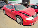 1999 MITSUBISHI ECLIPSE COLOR RED, STK# 103517