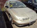 1997 SATURN SL2 COLOR GOLD STK# 109781