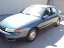 2002 SATURN L100, 4CYL, AUTOMATIC TRANSMISSION, COLOR BLUE, STK# 109785