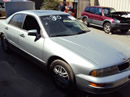 2001 MITSUBISHI DIAMANTE COLOR SILVER, STK # 103524