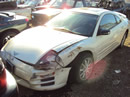 2001 MITSUBISHI ECLIPSE 4CYL, AUTOMATIC TRANSMISSION , COLOR WHITE, STK # 103532
