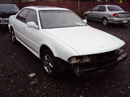1992 MITSUBISHI DIAMANTE, COLOR WHITE, STK # 103537
