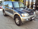 2001 MITSUBISHI MONTERO FULLSIZE, LIMITED, COLOR BLACK, STK # 113545