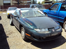 1997 SATURN SC2 2 DOOR COUPE, 1.9 L ENGINE DOHC, AUTOMATIC TRANSMISSION, COLOR-GREEN, STK # 119798
