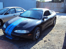 1996 MITSUBISHI ECLIPSE CPE .2.0L ENGINE, N-T AUTOMATIC TRANSMISSION,COLOR BLACK. STK#113555