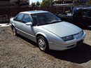 1992 SATURN SL2 MODEL,1.9L DOHC AT,COLOR SILVER, STK#119801