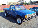 1991 MITSUBISHI PICK UP, 2.4L , MT, 2WD, COLOR BLUE, STK# 113559