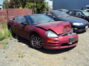 2001 MITSUBISHI ECLIPSE CONVERTIBLE 2.4L ENGINE, AUTOMATIC TRANSMISSION, COLOR RED, STK# 113562