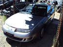 1997 SATURN COUPE SC2 MODEL 1.9L DOHC AT COLOR SILVER STK 119816