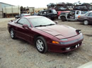 1991 MITSUBISHI 3000 GT SL MODEL,3.0L DOHC NON TURBO MT FWD ,COLOR MAROON STK # 113579