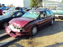 1995 SATURN SW2 MODEL STATION WAGON 1.9L DOHC AT COLOR BURGUNDY STK 119820