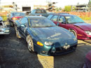 1995 MITSUBISHI 3000 GT SL MODEL,3.0L  DOHC N-T AT FWD COLOR GREEN STK 113580