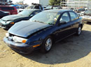 1998 SATURN SL2 MODEL 4 DOOR SEDAN 1.9L DOHC AT COLOR BLUE STK # 119821