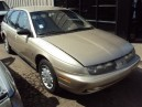 1996 SATURN SW2, 1.9L AUTO, COLOR GOLD, STK 159898
