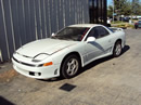 1993 MITSUBISHI 3000 GT SL MODEL 3.0L DOHC NON TURBO MT FWD COLOR WHITE STK # 123590