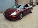 2003 MITSUBISHI ECLIPSE GT MODEL COUPE 3.0L AT COLOR MAROON STK 123592