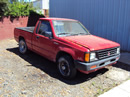1992 MITSUBISHI PICK UP REGULAR CAB 2.4L MT 2WD COLOR RED STK 123598