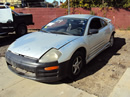2000 MITSUBISHI ECLIPSE 2 DOOR COUPE RS MODEL 2.4L MT FWD COLOR SILVER STK 123609