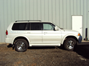 2002 MITSUBISHI MONTERO SPORT LIMITED MODEL 3.5L AT 2WD COLOR WHITE STK 123610