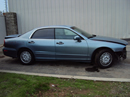 1998 MITSUBISHI DIAMANTE 4 DOOR SEDAN ES MODEL 3.5L V6 AT FWD COLOR BLUE  STK 123613