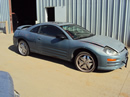 2001 MITSUBISHI ECLIPSE COUPE GS MODEL 2.4L AT COLOR BLUE STK 133618